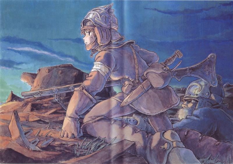 Poster for Nausicaa: Valley Of The Wind